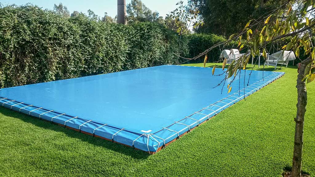 Lona tapadera piscinas